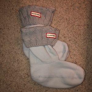 Hunter Cable-knit Short Boot Socks